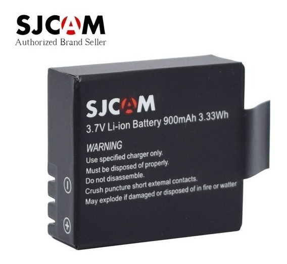 Bateria Sjcam 2 Unidades Câmera 4k Action Sj400 Sport Hd Estilo Gopro