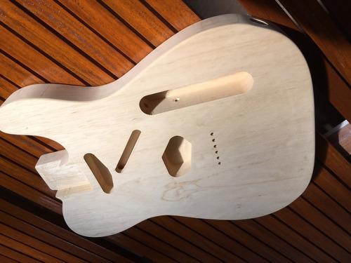 Imagem 1 de 5 de Corpo Guitarra Modelo Tele Em Marupá