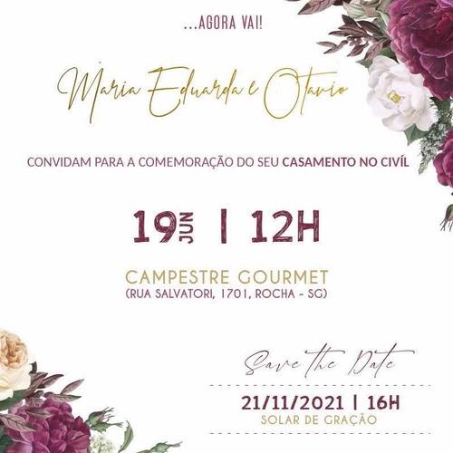 Convite Digital - Casamentos, Aniversários, Formatura