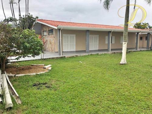 Imagem 1 de 20 de Casa Perto Da Praia Com 3 Dormitórios, Edícula E Quintal À Venda No Balneário Flórida!! - Ca0191