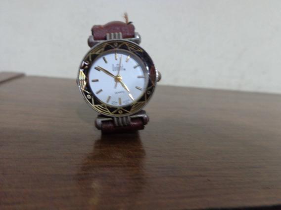 Relógio Feminino Dumont Quartz Miyota Co Funcionando