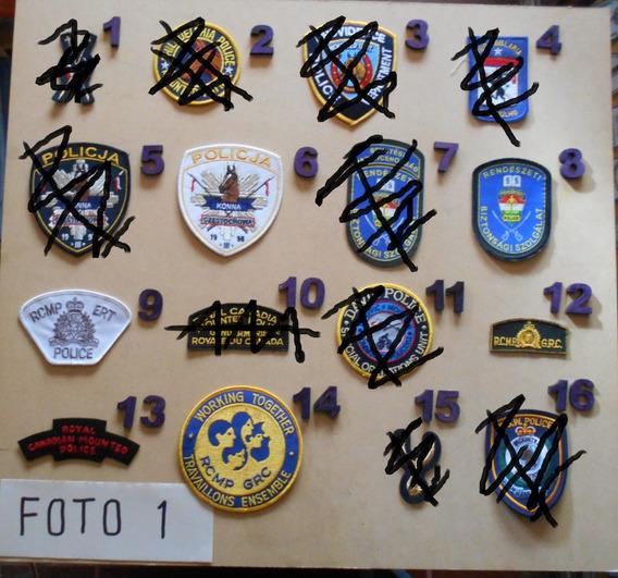 Parches Policias Del Mundo - Division Montada - Mqxr