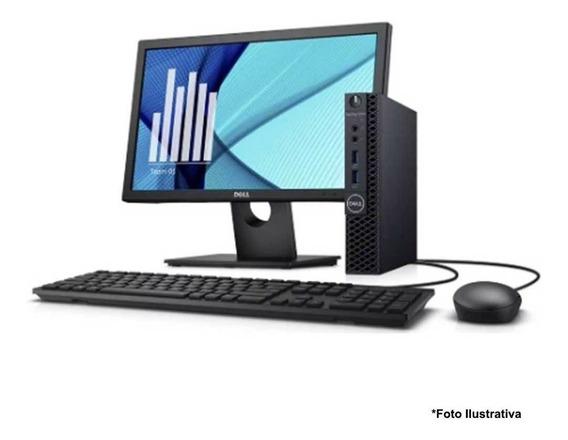 Computador Dell Mini 3020 Core I5 8gb Ssd 120gb Monitor 22