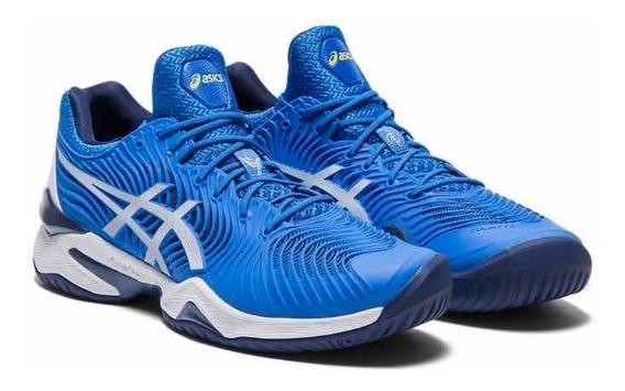 Tênis Asics Court Ff Novak Djokovic Azul New Original + Nf