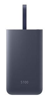 Bateria Power Bank Samsung 5100mah Fast Charge Usb Y Usb C