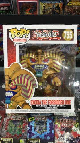 Funko Pop! Exodia The Forbbiden One Yugioh! #755 - Original