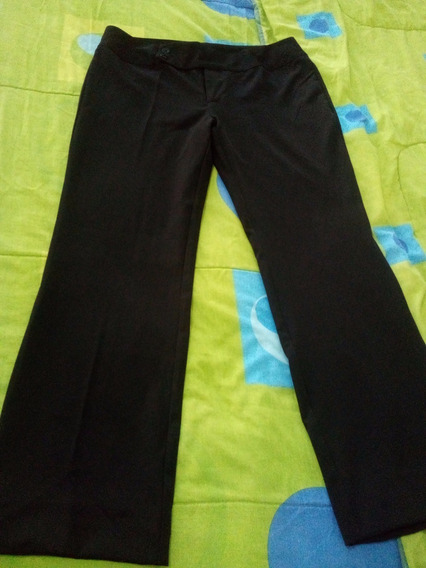 Pantalón Negro De Vestir Usado Talla 13-14