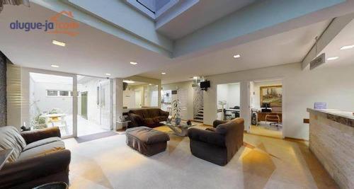 Casa À Venda, 374 M² Por R$ 4.500.000 - Indianópolis - São Paulo/sp - Ca3634