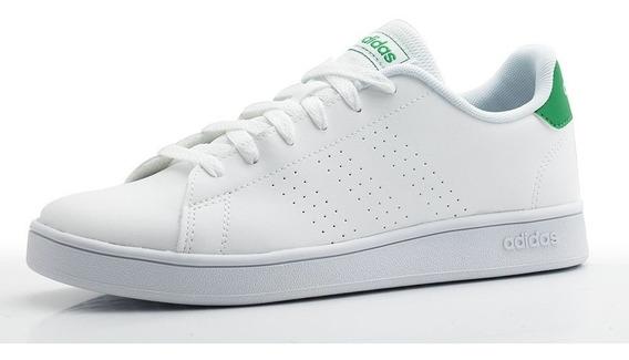 Tenis adidas Advantage K (blanco)