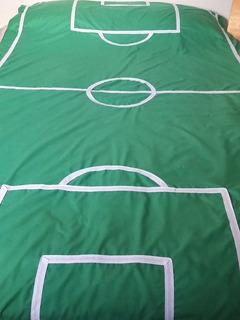 Cubrecamas Y Fundas De Edredones Infantiles Cancha De Fútbol