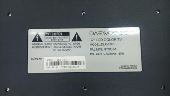 Tv Daewoo 32 Pantalla Dañada Dlx32c1