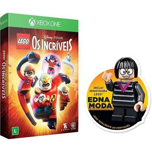 Jogo Lego Os Incríveis Xbox One Ed. Especial - Mídia Física