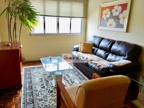 Apartamento À Venda, 72 M² Por R$ 420.000,00 - Santa Maria - São Caetano Do Sul/sp - Ap3866