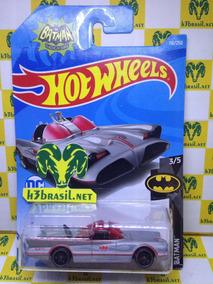 Bx421 Hot Wheels 2019 Batman Batmóvel Batmobile Tv Séries H3