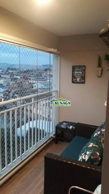 Apartamento Com 3 Dormitórios À Venda, 77 M² Por R$ 477.000 - Jardim Rosa De Franca - Guarulhos/sp - Ap2477