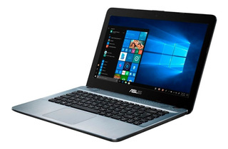 Notebook Asus A6-9225 240gb 4gb 14 Pulg Win 10 Gris Fact A-b