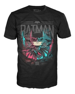 Funko Pop Tees: Dc Batman Batarang Camiseta