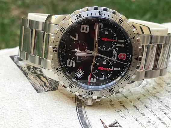 Reloj Victorinox Swiss Army Cronografo Zafiro Moderno