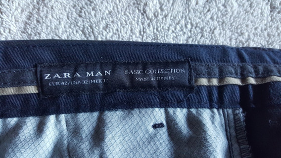 Pantalon Zara Man Gabardina Excelente!!!