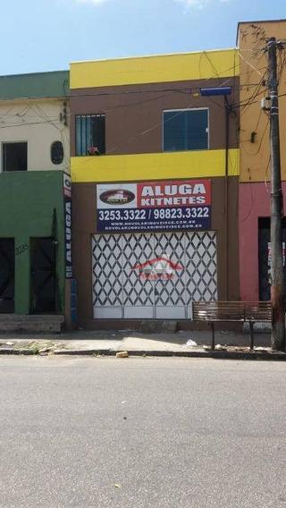Apartamento Com 1 Dormitório Para Alugar, 45 M² Por R$ 450/mês - Joaquim Távora - Fortaleza/ce - Ap0612