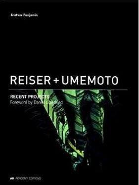 Livro Reiser + Umemoto : Recent Projects - Andrew Benjamin