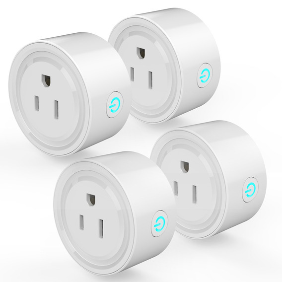 4pcs Wifi Enchufe Inteligente Wi Fi Habilitado Mini Socket S