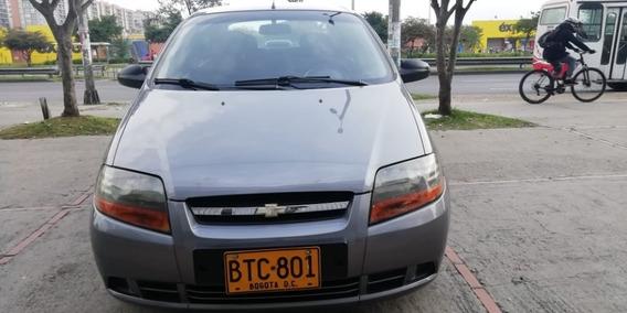 Chevrolet Aveo Ls 1.4 2006 Gris,4 Puertas,sin Aire
