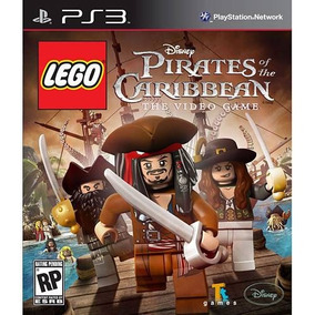 Lego Piratas Do Caribe: The Video Game - Ps3 Mídia Física