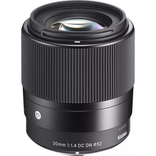 Lente Sigma Sony 30 1.4 E, Ñ Envio Pernambuco E Ceara