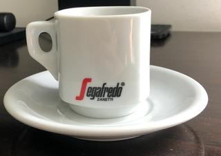 Lote De Juegos Desayuno Porcelana Tsuji Con Logo Segafredo