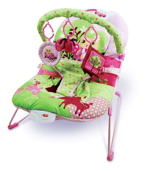 Silla Porta Bebe Mega Baby Música Vibración Juguetes 11 Kg