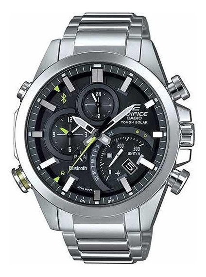 Relógio Casio Edifice Tough Solar Dual Time Eqb-501d-1acf