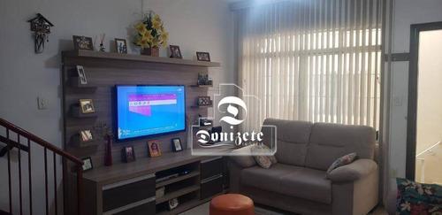 Imagem 1 de 2 de Sobrado À Venda, 218 M² Por R$ 1.000.000,00 - Vila Curuçá - Santo André/sp - So3726