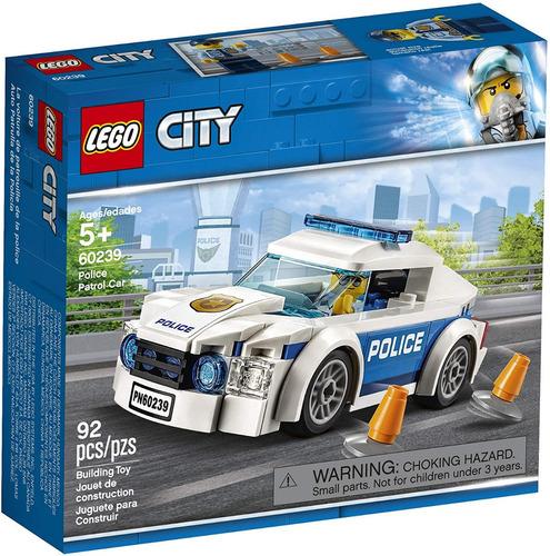 Lego City Police Patrol 60239 Kit De Construcción Nuevo