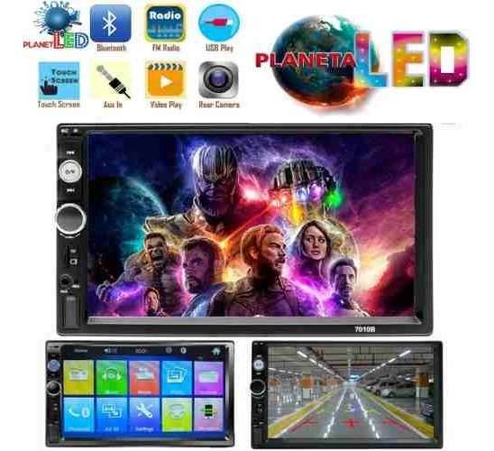 Radio Pantalla Doble Din Mp5 Video Usb Sd Bluetooh Hd 7 Pul