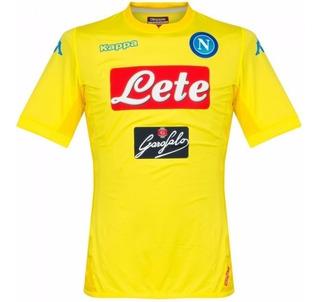 Camisa Napoli Away 17-18 Importada