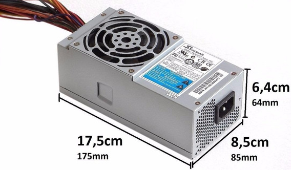Fonte Para Desktop Slim 300w Seasonic
