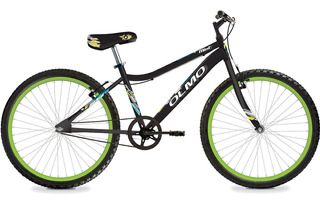 Bicicleta Olmo Mint R24 Negro Y Verde - Thuway