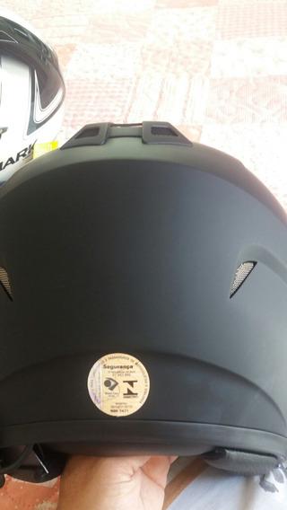 2 Capacetes Originais Harley Davidson E Shark C Intercomunic