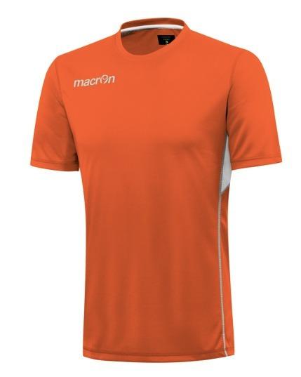 Remera Tela Deportiva- Modelo Andrew- Naranja- Macron