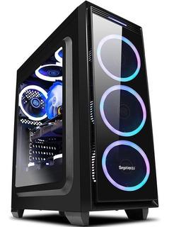 Chasis, Carcasa De Computadora Segotep Halo 6 Plus Gamer