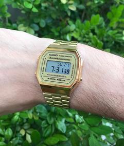 Relógio Casio Dourado Com Regulagem E Super Estiloso