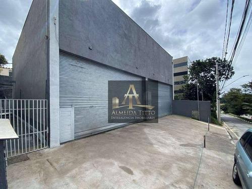 Excelente Salão Comercial À Venda No Parque São George, Cotia. Com 742 M² E 8 Vagas! - Sl0076