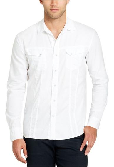 Camisa Caballero Blanca Casual William Rast Unica Talla