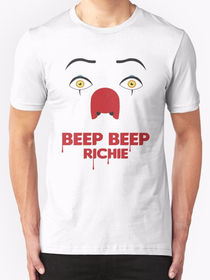 Stephen King It Eso Beep Beep Playera Personalizada