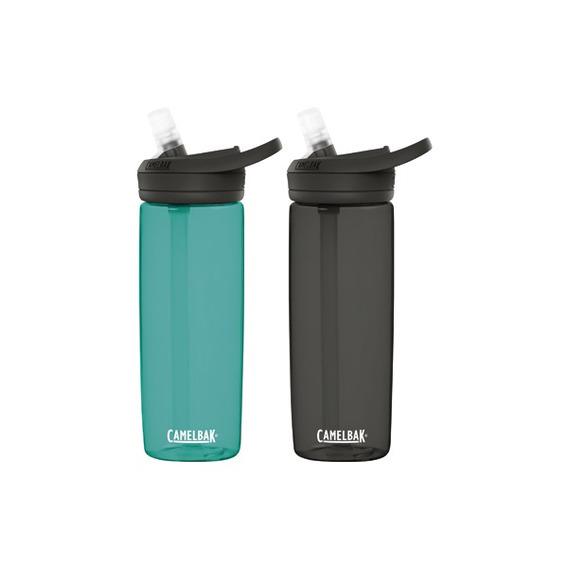Pack 2 Botellas Eddy+ Camelbak 0.6l Charcoal / Spectra