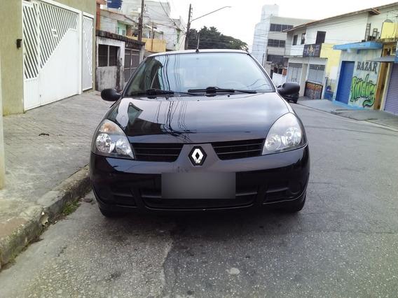 Renault Clio Flex 1.0 16v 2011 4 Portas Único Dono Baixo Km