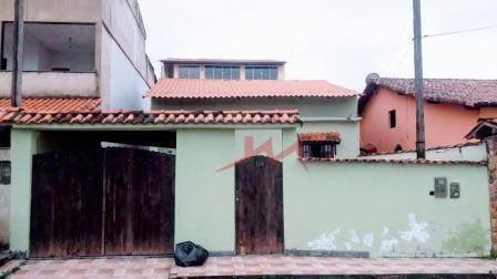 Casa Com 2 Quartos À Venda, 109 M² Por R$ 220.000 - Centro (manilha) - Itaboraí/rj - Ca0068