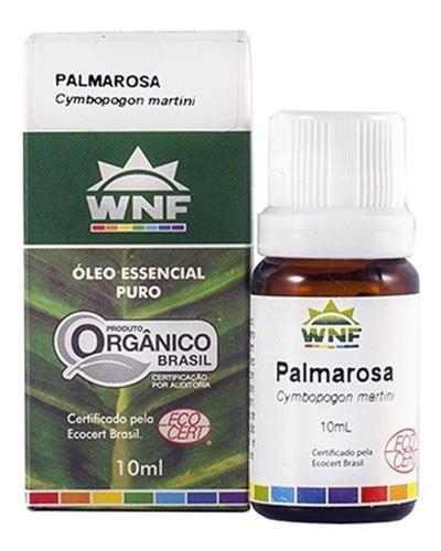 Óleo Essencial De Palmarosa Wnf - 10 Ml