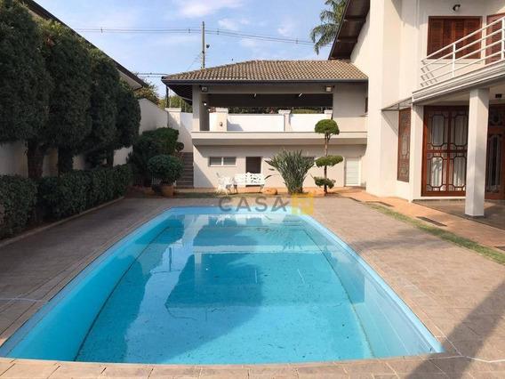 Casa Com 4 Dormitórios À Venda, 385 M² Por R$ 2.395.000 - Werner Plaas - Americana/sp - Ca0574